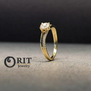 טבעת יהלום 88988