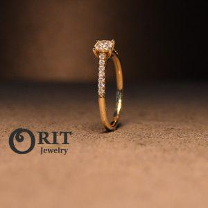 טבעת יהלום 86919