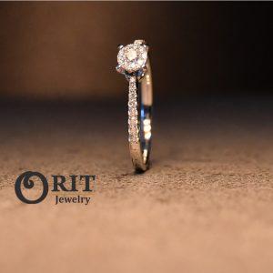 טבעת יהלום 92914