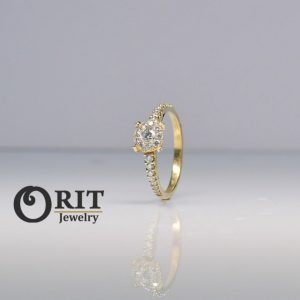 טבעת  יהלום R-R11584
