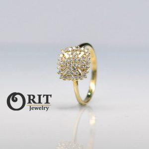 טבעת יהלום 97446