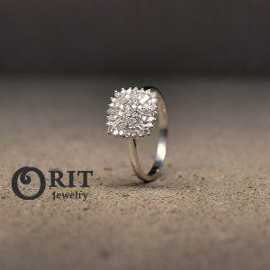 טבעת יהלום 97451