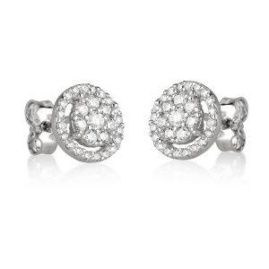 עגילי יהלומים Ed6870