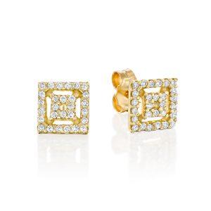 עגילי יהלומים Ed7270