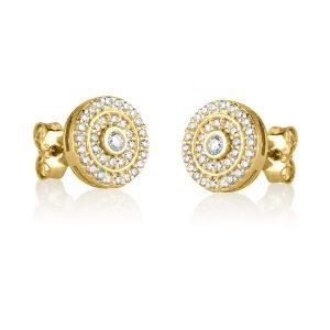 עגילי יהלומים Ed7559