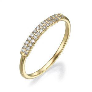 טבעת יהלומים Rd7992