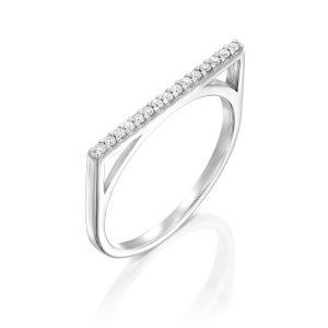 טבעת יהלומים שורה Rd8268